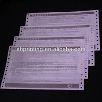 Professional airline ticket printing in China