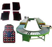 2013 Hot sale!automatic multicolor PVC car mat making machine