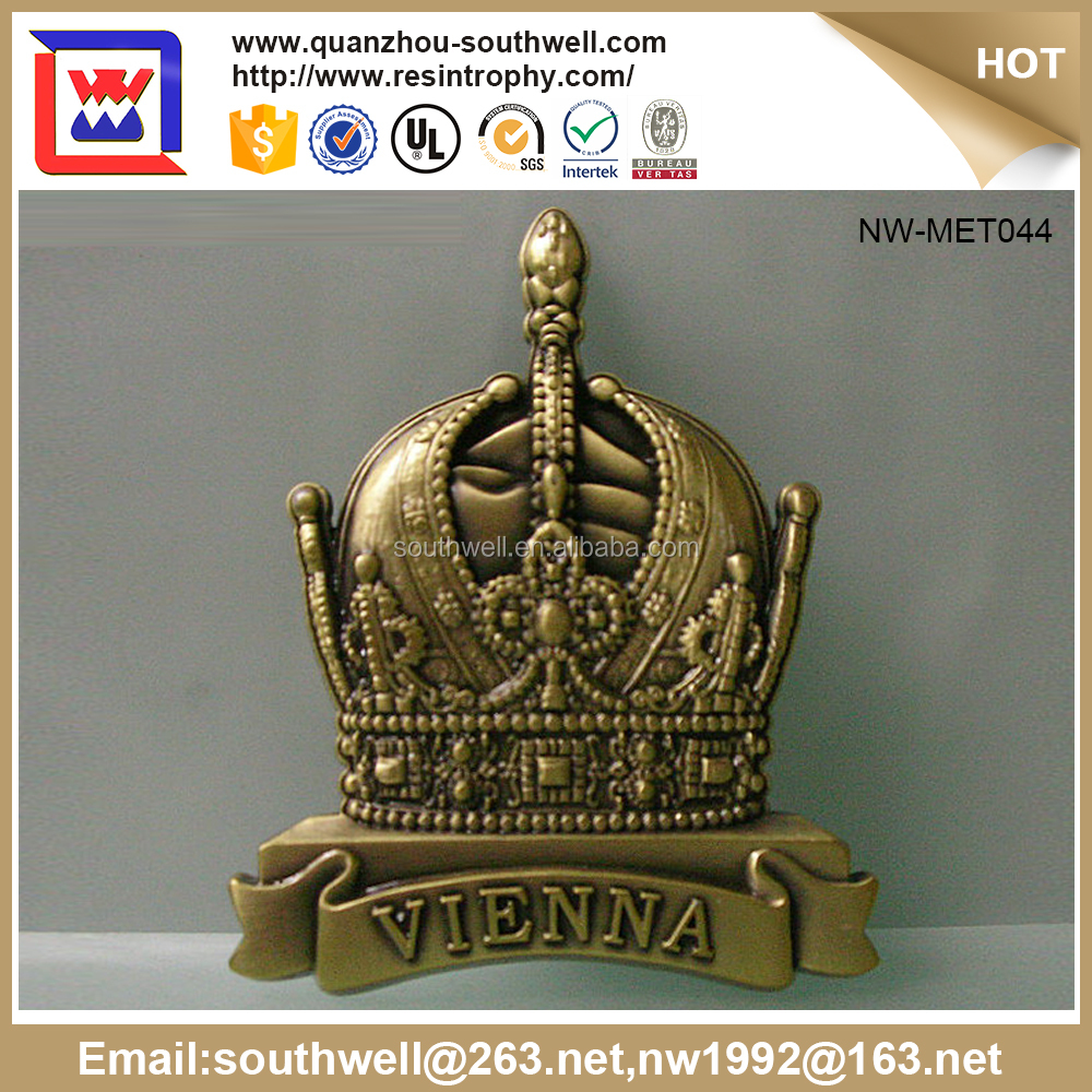 Trade Assurance Supplier Custom Made Country Metal Souvenir Medal