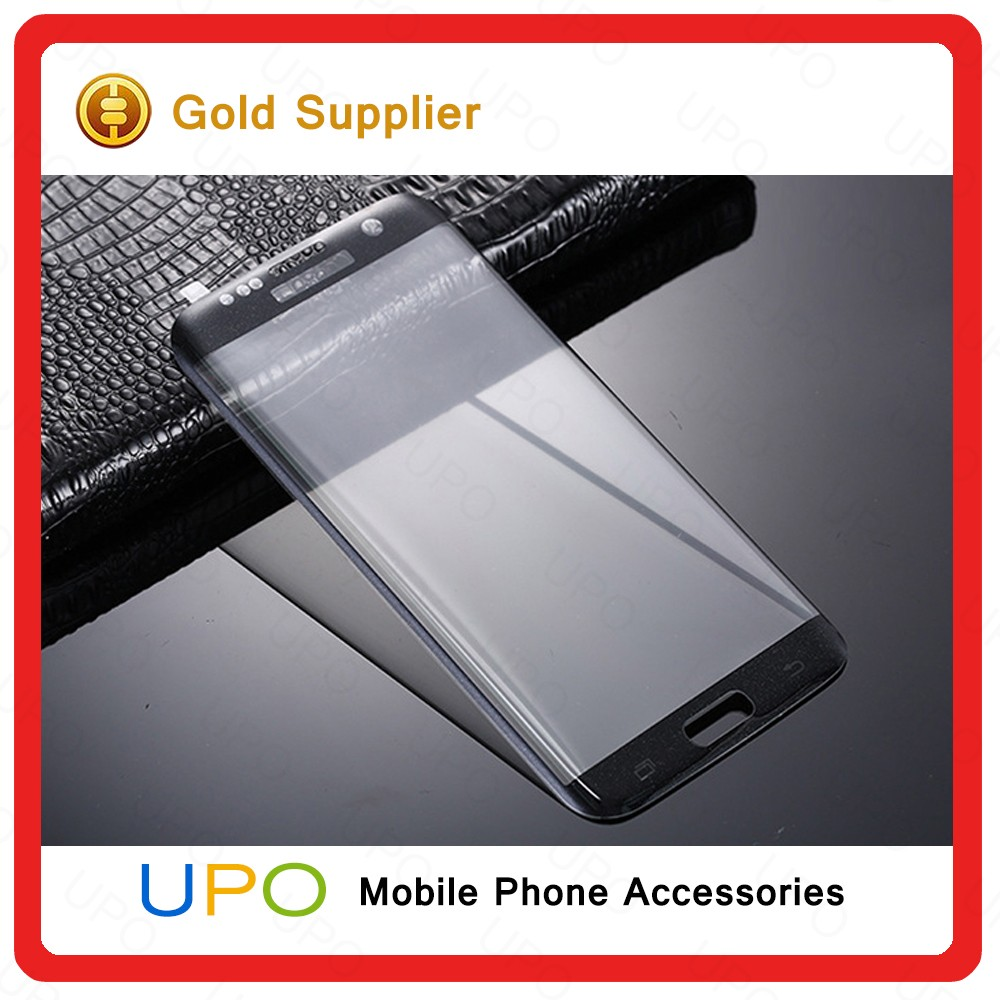 [UPO] Wholesale High Quality Soft Clear 3D Full Body Curved Cover Pet Screen Protector for Samsung Galaxy S7 Edge