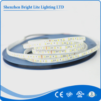 UL CE RoHS certified SMD led flexible strip light 5050 Waterproof IP67/68 Yellow 60LED small battery operated led strip light