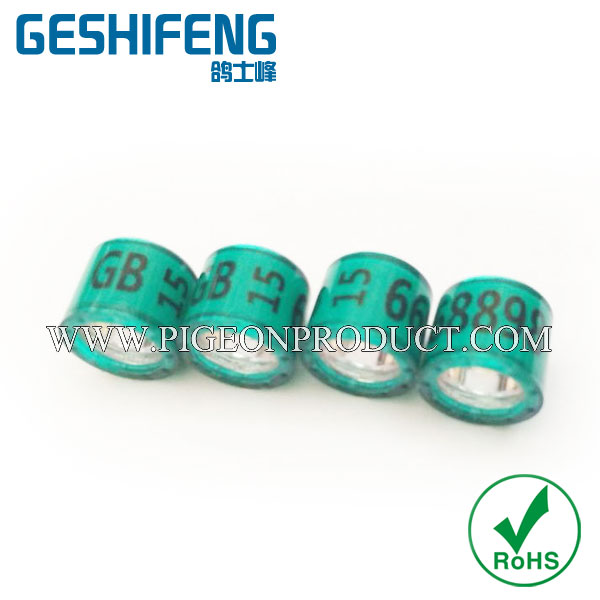 rfid pigon tag ring bird rings plastic certificate for welding machine