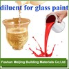 colorfully spray glass paint diluent for mixing paint