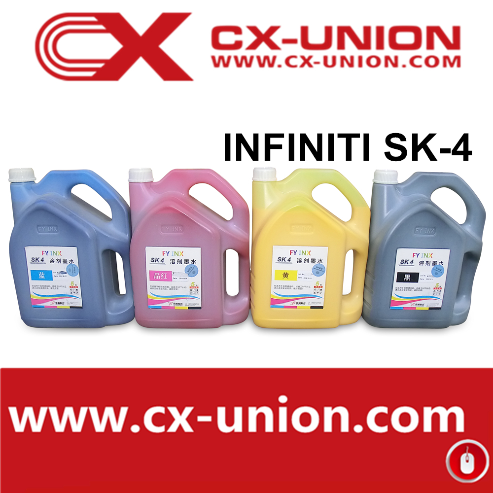 2012015 hot sale infinity sk4 solvent ink printing material for large format machine