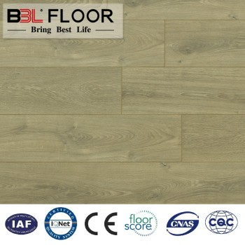 12mm registed synchronized lace HDF laminate flooring
