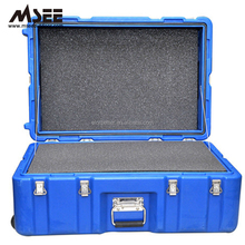 Customised small flight case laminate dj plastic hard flight case