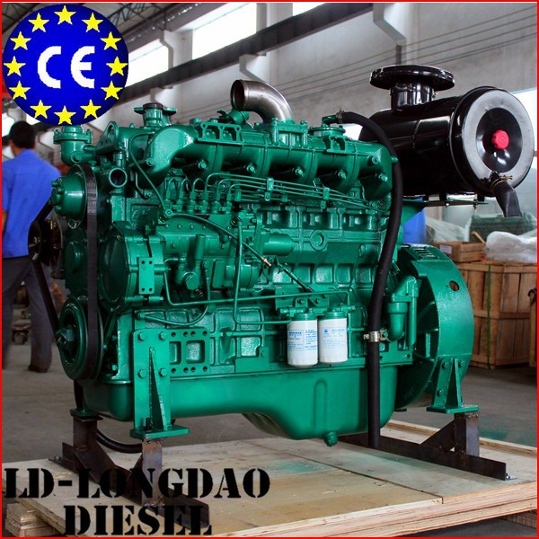 Water-Cooled Turbocharger Lister Type Diesel Engine For Sale