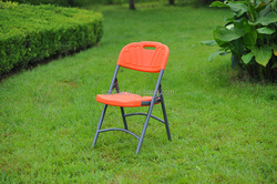 outdoor furniture helmet foldable plastic metal folding chair