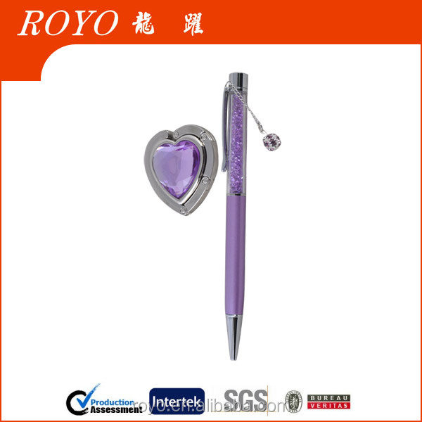 2014 High quality metal cover journal with pen for promotion product