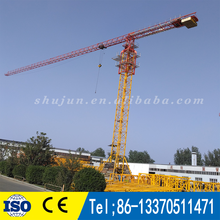 PT6016 QTZ125 hiqh price performance fixed topless tower crane