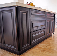 Espresso Raised panel Kitchen Cabinet