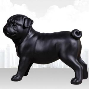 Funny resin pug dog ornaments statues