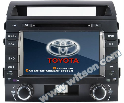 WITSON audio cd player for TOYOTA LAND CRUISER L200 with Auto Rear View Function