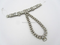 Superior Quality Rhinestone Sandal Accessories for Ladies Shoe
