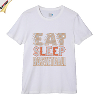Eat Sleep Basketball Custom Fashion T Shirt Design