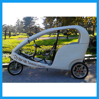 Adult Electric Tricycle 3 Wheel Scooter with Cabin Enclosed