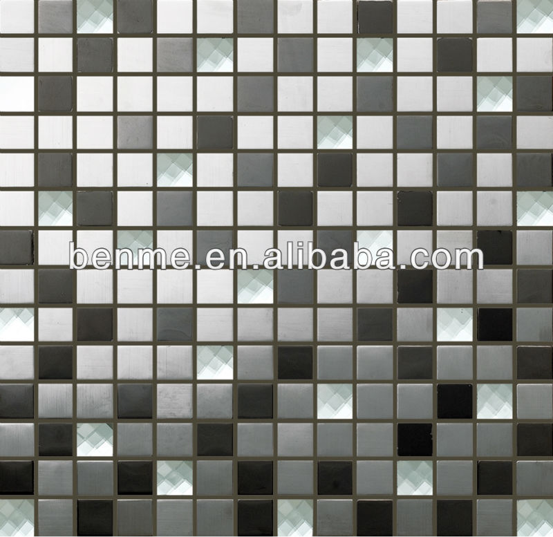 Mirror Glass mosaic / High qualith bling bling mosaic tile for interior wall / Crystal mix mosaic