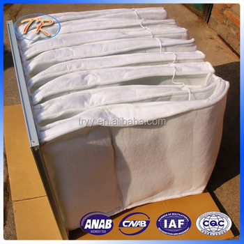 high quailty synthetic fiber material air filter bag