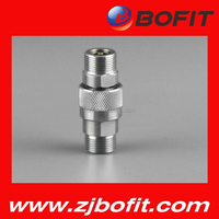 High pressure stainless steel screw hydraulic quick coupling for sale