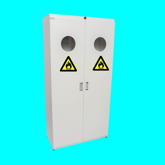 BH02-022 - Industrial Laboratory Gas Cylinder Storage Cabinet/ Safety Cabinet