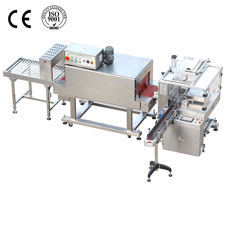 Full Automatic Sleeve Medical Boxes Shrink Wrap Machine