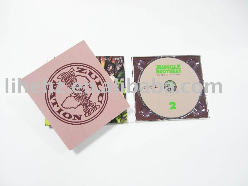 Professional DVD/CD case printing