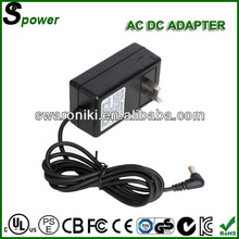 certified by European American Aulstralia Canada Japan Korea AC DC Adapter 36W transformer 12v 3a