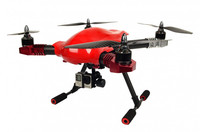 World's First Auto-follow and FPV Drone quadcopter with camera, remote control helicopter with camera screen