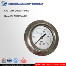 Oil filled U clamp meter pressure gauge