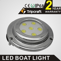 5X1 5W IP68 LED boat dock light ocean led marine light,waterproof,high power swimming pool light with factory price