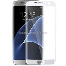 2016 new arrival wholesale for samsung galaxy s7 s7 edge full size cover tempered glass screen protector for samsung s7 edge