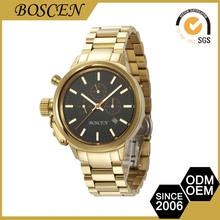 Personalized Custom Fitted Cheap Prices Private Label Gold Watches