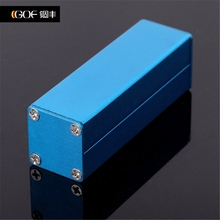 25*25-80silver wall mount wire drawing aluminum control box case IC card enclosure Electronics and Industrial Control