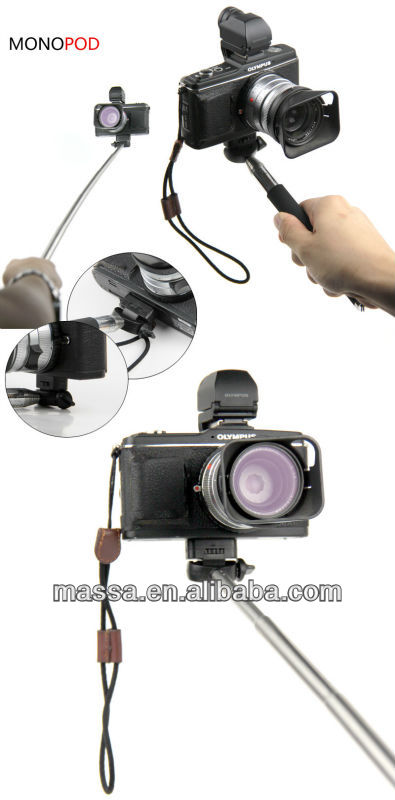 photograph and video yourself equipment---Tripod monopod for iphone and camera