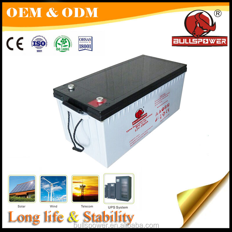 12V 200AH Communication equipment/telecom gel battery