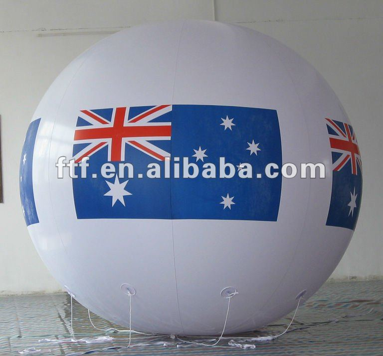 inflatable advertising helium balloon