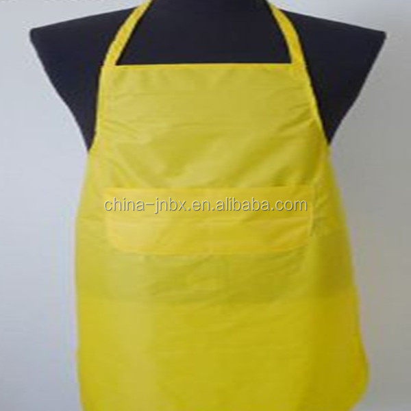 adult plastic apron with pocket