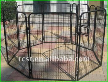 8 sided panels dog cage enclosure