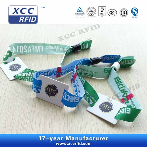 Woven ID Wristbands For Music Festival
