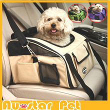 Wholesale Pet Carriers Size S High Quality Dog Car Seat Unique Multifunctional Carriers for Dogs Cat Bag