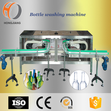 Automative Glass bottle washing machine bottle rinser in filling machines