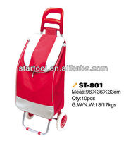 Shopping Trolley Bag with 600D Polyester Fabric