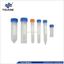 50ml plastic conical bottom centrifuge tube with screw cap
