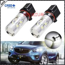 Error Free Canbus High Power White P13W PSX26W 50W CRE'E LED lamp Light Bulb For car Daytime Running Lights