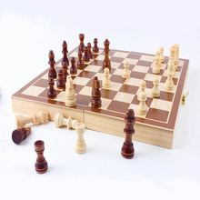 Folding Travel Chess Set for Kids or Adults Chess Board Game