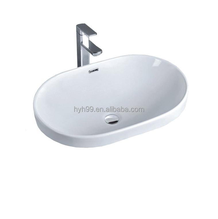 Ceramic Molded Wash Basin Counter Sink - Buy Counter Sink,Molded Sink ...