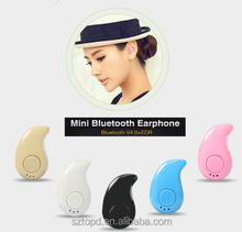 Super Mini Stereo Bluetooth Headset S530 Earbud Wireless Earphone For Mobile Phone Sport