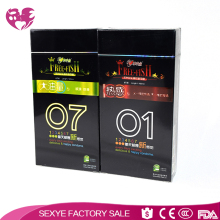 Best quality natural latex rubber flavoured dotted condom