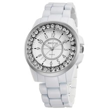 7218 Shining Diamond Decorated Couple Watch On Sale