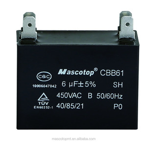 CBB61 FAN CAPACITOR SQUARE TYPE